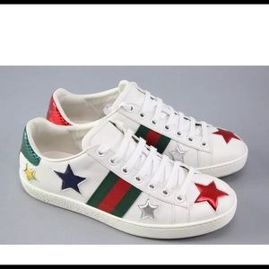 Gucci Shoes - Gucci Ace with Receipt Authentic Sneakers Sz 6